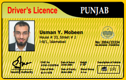 Driving Licence in Pakistan