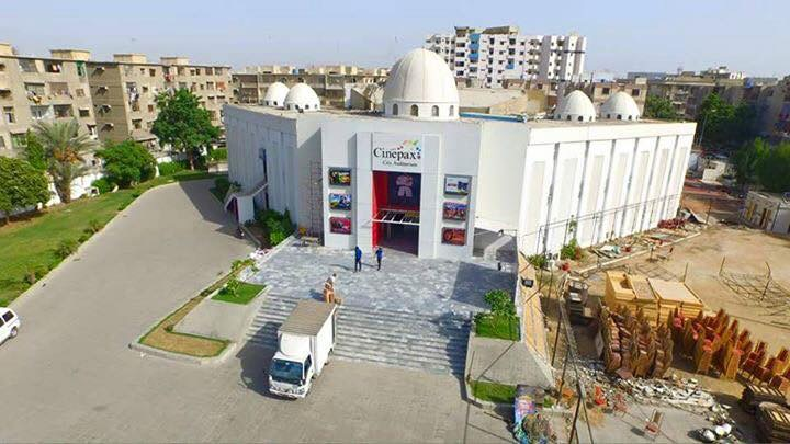 Al-Markaz Islami - A Cinema with Domes